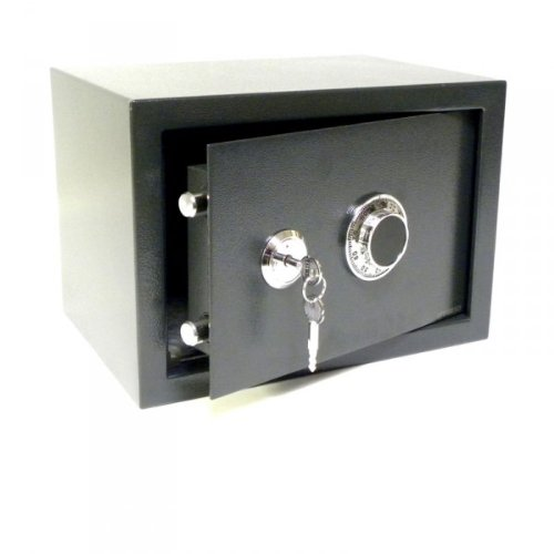 Tresor Safe Möbeltresor - mech. Zahlenkombinations-Schloß + Schlüssel - ca. 12 l