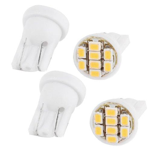 sourcing map 20pcs T10 2 LED SMD 5630 Blanc Ampoules Wedge W5W /éclairage Tableau Bord int/érieur 168
