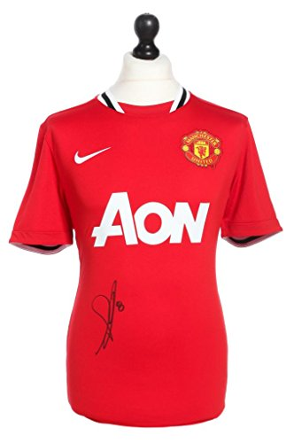 Anderson-Signed-Manchester-United-20112012-Home-Shirt-Autograph-Jersey-COA