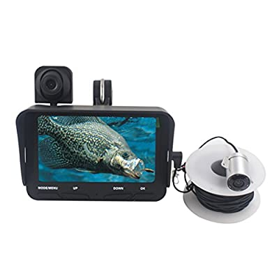 DZQ Fish Finder 1280 * 720 HD Underwater Inspection Camera Portable Detection Equipment for Night Fishing/Sea Fishing by DZQ