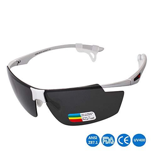 MPNP Fahrradbrillen, Motorradbrillen Skibrillen Sport-Sonnenbrille Ultra Light Komfort-Marathon mit winddichten Gläsern im Freien Fahren Polarizer Brillen,G