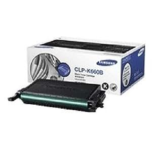 CLP-K660B Toner Schwarz CLP-K660B/ELS, Toner Schwarz, hohe Kapazität/ Reichweite: ca. 5500 Seiten/ kompatibel zu CLP-610ND/CLP-660, CLX-6200ND, CLX-6210FX, CLX-6240FX. (Druck