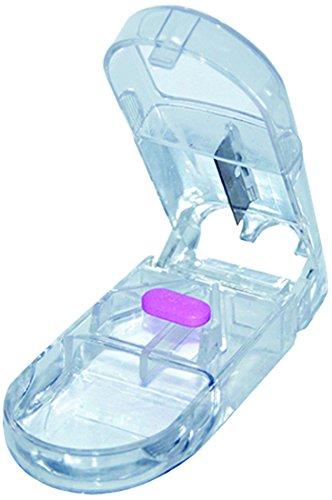 Meknock 75003 Pillenteiler für Menschen mit eingeschränkter Handmotorik