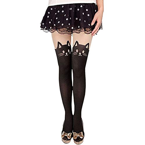 Anime Sailor Moon Luna Katze Nette Enge Printing Socken Cosplay Kostüm Strumpfhosen - Cat Sailor Moon Kostüm