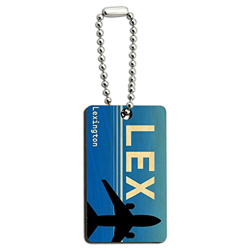 lexington-ky-lex-airport-code-wood-wooden-rectangle-key-chain