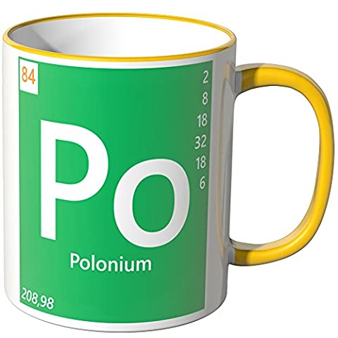 Wandkings® Tasse, Element Polonium