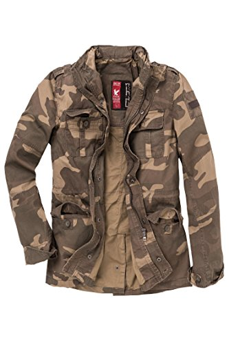 Surplus Delta Industries Herren Britannia Jacket, Light Woodland, Groesse M