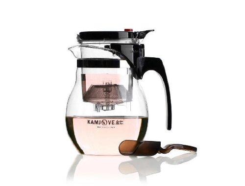 KAMJOVE verre Gongfu Teapot Avec Infuser Tasse 700ml