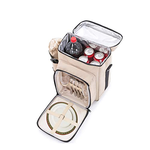 Zoom IMG-3 zaino de picnic borsa termica