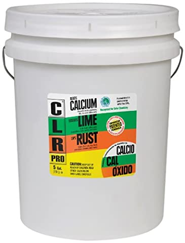 Calcium, Lime and Rust Remover, 5gal Pail, Sold as 1 Each