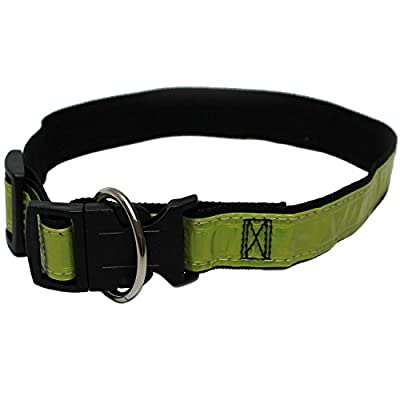 Hundehalsband Blinkhalsband reflektierend Sicherheitshalsband Leuchthalsband Blinkhalsband Lichthalsband Hunde Halsband