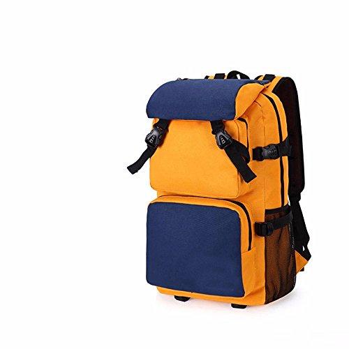 TBB-Zaino borsa a tracolla impermeabile capacità grande borsa da viaggio,Kaki grandi Khaki Small