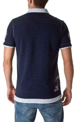 Tom Tailor Herren Poloshirts the sunset lounge polo T-Shirts 15633 6519