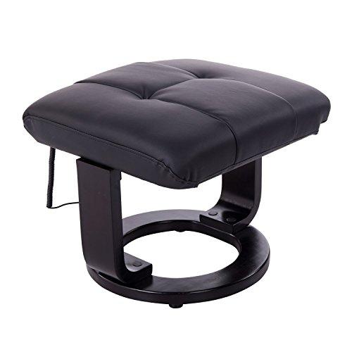 homcom 700-008BK Massagesessel mit Heizfunktion - 9