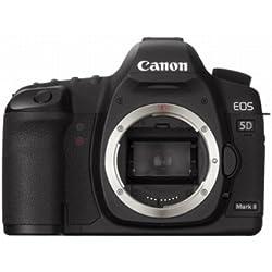 Canon EOS 5D Appareil photo numérique Reflex 21.1 Mpix Boîtier nu Noir