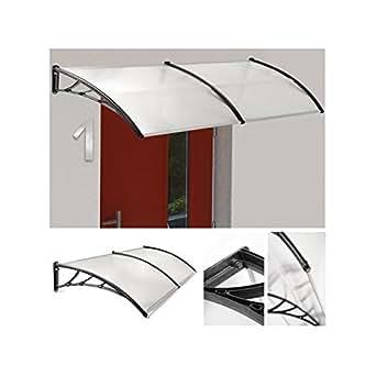 ProBache - Auvent de porte marquise d'accueil 90x120 cm