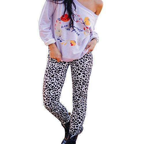 JYJM 2018 Mode Frauen Damen Leopardenmuster Hosen Casual Yoga Hosen Sporthose Camouflage Hose Frauen taufkleidung mädchen Bikini Set Frauen - Haltbar und Strapazierfähige Womens Leggings