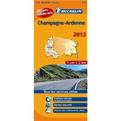 Carte REGION Champagne Ardenne 2013 n°515
