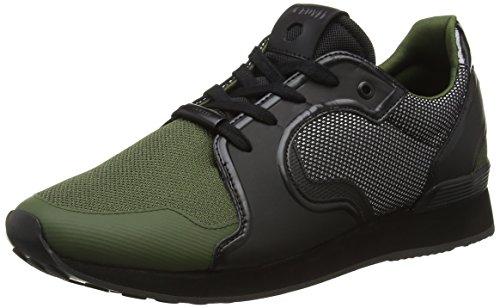 Cruyff Tech Rapid Sneakers da Uomo, Verde (Hunter Green), 12 UK 46 EU