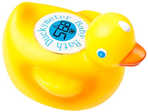 Ozeri Educational Products - Duckymeter Baby Bath Floating Duck Toy and Bath Tub Thermometer
