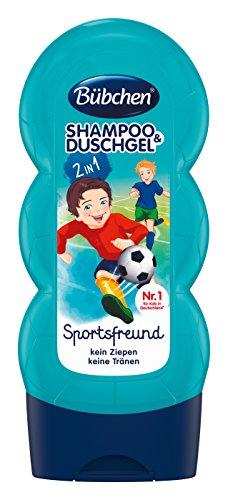 Bübchen Kids Shampoo & Duschgel Sportsfreund, 4er Pack (4 x 230 ml)