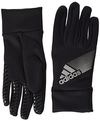 adidas Field Player ClimaProof Torwarthandschuhe Handschuhe, Black/Silver, 12 -