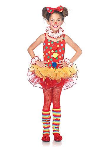 Leg Avenue C48153 - Circus Clown Kostüm Set, Größe M, Multicolor (Circus Kostüm)