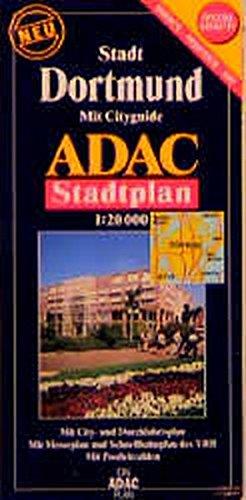 ADAC Stadtpläne, spezialgefaltet, Dortmund (ADAC Stadtplan spezialgefaltet)