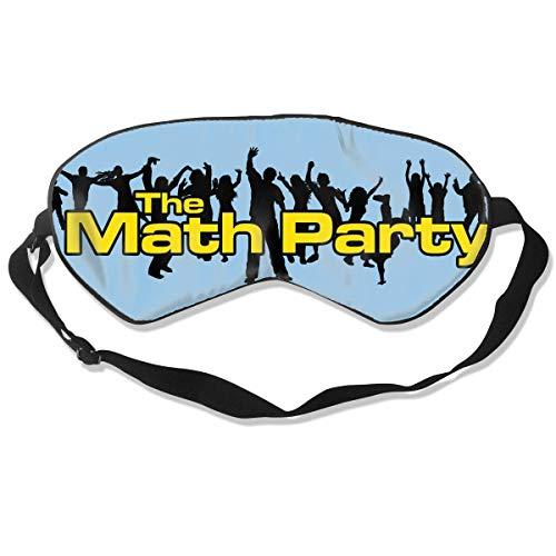Masken, Masken für Erwachsene, Fashion Sleep Mask The Math Party Eye Cover Blackout Eye Masks,Breathable Blindfold Soft Blindfold for Travel - Nap - Shift Work - Meditation White (Gas Maske Kleinkinder)