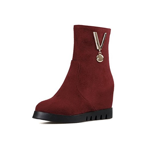 agoolar-womens-round-closed-toe-low-top-high-heels-solid-imitated-suede-boots-claret-40