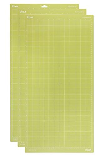 Unbekannt Cricut Standardgrip Schneidematte, 12 x 24 mm, 3 Stück, AMZ, Grün -