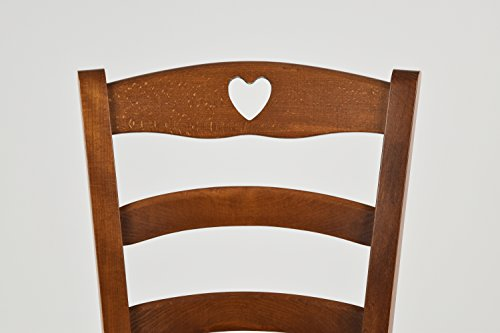 Tommychairs sedie di design sedia cuore per cucina e sala da