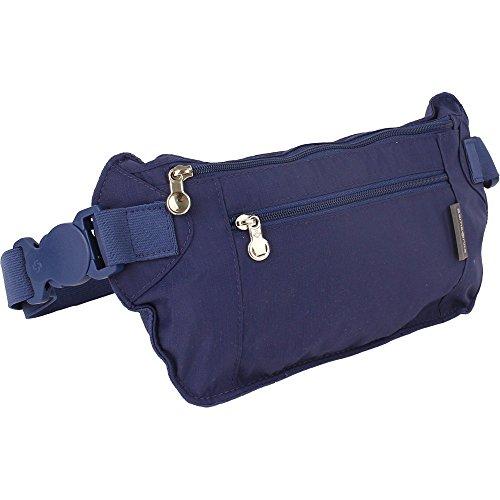 Samsonite Travel Accessories Marsupio Portasoldi, Indigo Blue, 0.1 ml, 19 cm