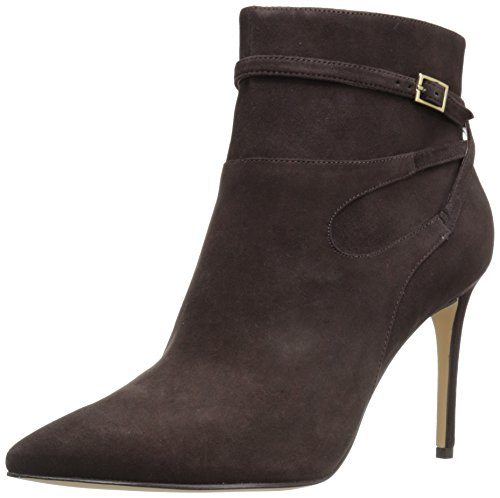 Nine West Women's Tanesha Dark Brown Pointy Toe Booties - 6.5 B(M) US (Bootie Pointy Toe)
