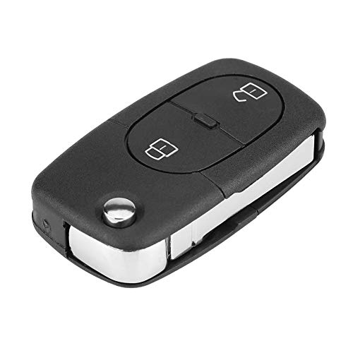 KIMISS 2 Taste Auto Fernbedienung, Schlüssel Chip Transmitter 434 MHz 1J0959753 A (Auto-schlüssel-programm)