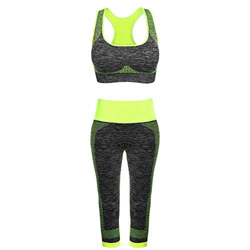 Fitibest Damen Sport BH Yoga BH Jogginghose Sport Leggings Yoga Hose Yoga-Anzug Trainingshose