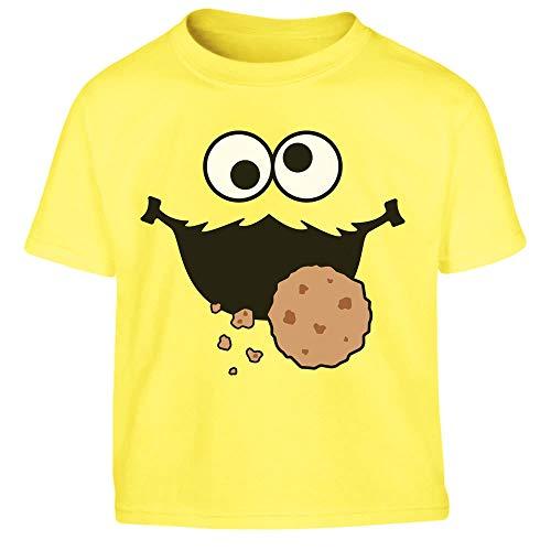 Süßes Karneval & Fasching Keksmonster Krümel Kostüm Kleinkind Kinder T-Shirt 86/94 (1-2J) ()