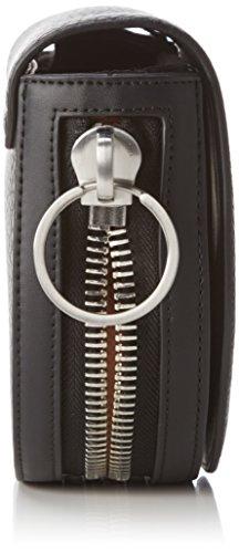 Calvin Klein Jeans  QUINN SADDLE BAG, Sacs bandoulière femme Schwarz (BLACK 001 001)