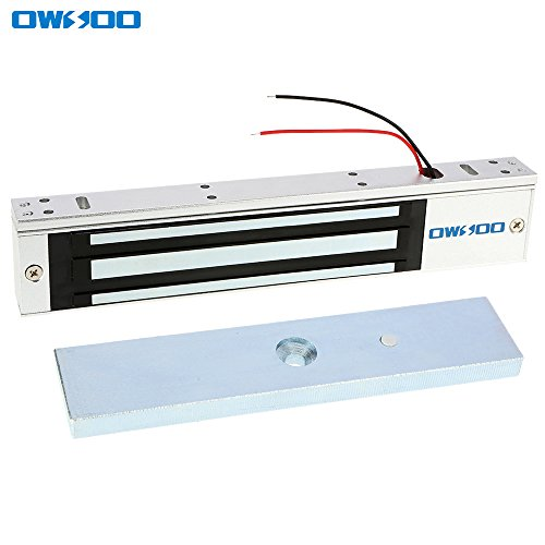 OWSOO 280KG 600lbs Elektronishce Magnetische Schloss für Tür Access Control System Hostcontroller Tür Eintrag NC-Modus