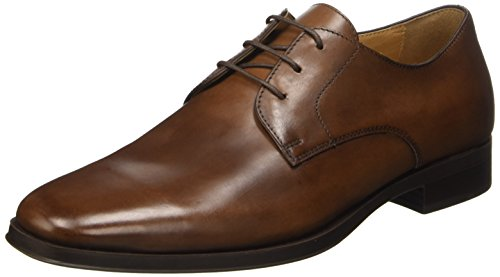Geox U Pericle C, Pompes à plateforme plate homme Marrone (Dk Brown)