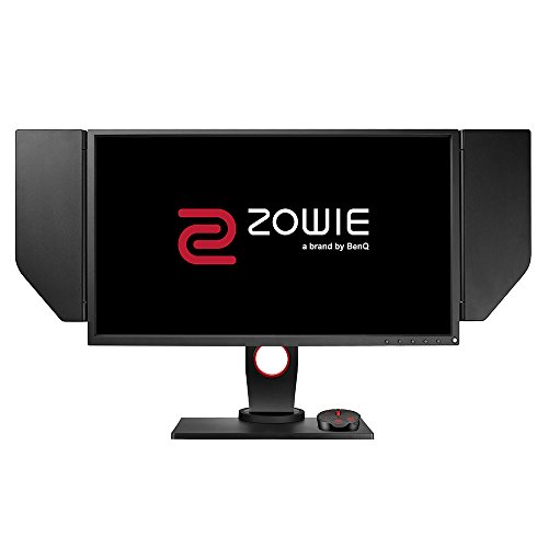 BenQ ZOWIE XL2546 - Monitor Gaming para e-Sport de 24.5' Full HD,  240Hz, 1ms, tecnología  DyAc, ajustable en altura y giro, DisplayPort, HDMI, S Switch, Black eQualizer, Color Vibrance, Viseras