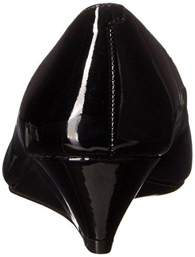 Nine West Elenta Pompe de cale synthétique Black Patent