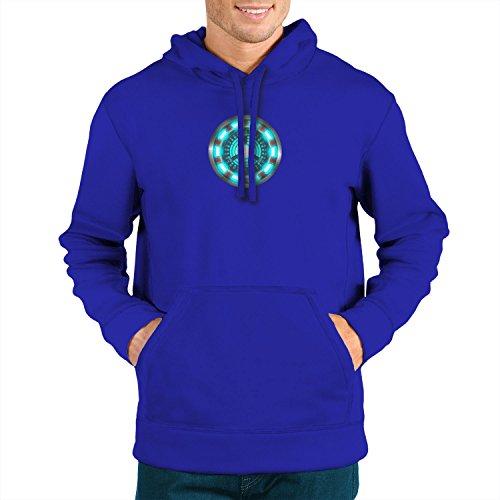 tor - Herren Hooded Sweater, Größe: XXL, Farbe: blau ()