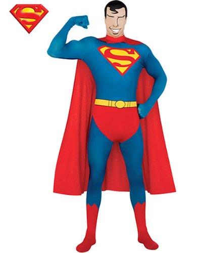 Generique - Hautenges Superman-Kostüm für Erwachsene