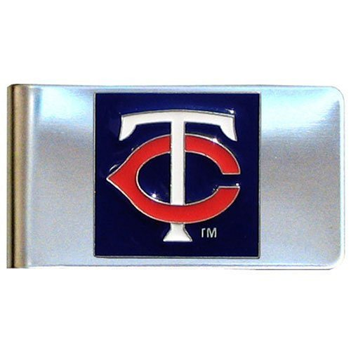 MLB Stahl Geld Clip, Herren, Minnesota Twins Minnesota Twins-ausrüstung