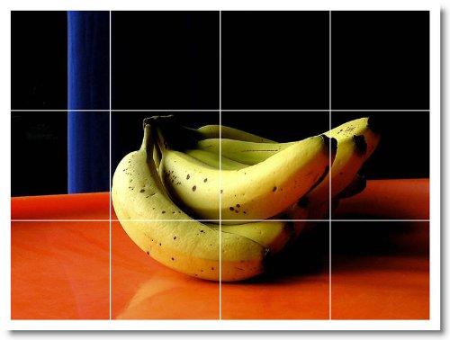 ALIMENTOS FOTO COCINA TILE MURAL F123  18X 24CM CON (12) 6X 6AZULEJOS DE CERAMICA