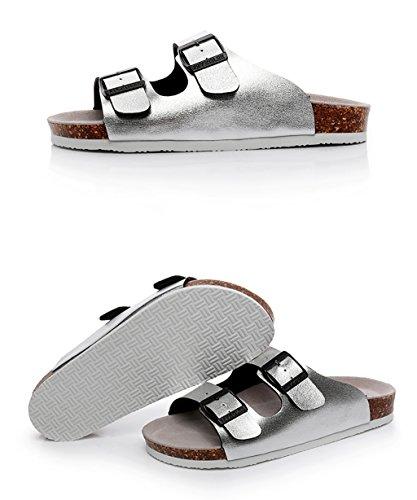 CHAOXIANG Pantofole Da Donna Antiscivolo Con tacco Ciabatte Piatte Sandali Da Surf Nuova Estate Ciabatte Spiaggia ( Colore : E , dimensioni : EU37.5/UK4.5/CN38 ) C