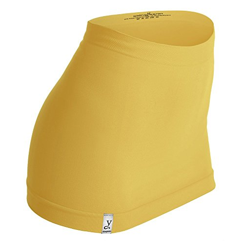 Kidneykaren Nierenwärmer Basic- Tube Multifunktion Yogagurt Fitness & Freizeit Bamboo (gelb), Größe:M - Bamboo-gürtel