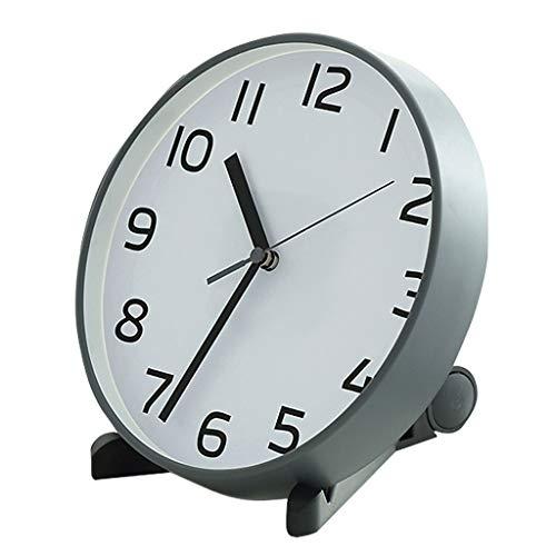 Despertador Escritorio Reloj Mute Dormitorio Mini