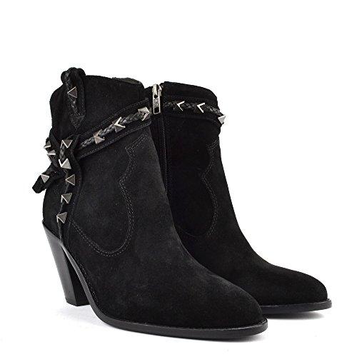 Ash Footwear Ash Scarpe Ilona Stivaletti Nero Donna Black